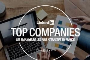 L'IT grimpe au palmar�s Linkedin France 2018 des meilleurs employeurs