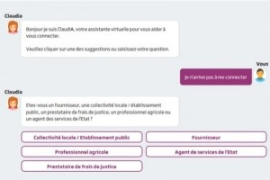 Chorus Pro active un chatbot sous IBM Watson