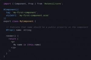 Le compilateur Stencil pour composants web arrive en bêta
