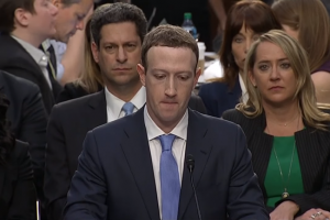 Mark Zuckerberg entendu au Parlement européen