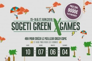 Sogeti sort un hackathon axé green game