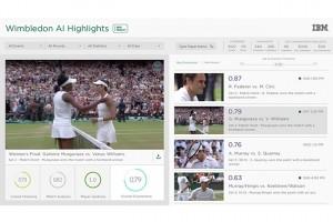 IBM muscle Watson pour le tournoi de Wimbledon