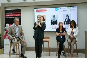 Le think tank Marie Claire Agir pour l'Egalité femmes-hommes sur les rails