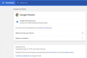 Chrome plus gourmand en RAM pour contrer Spectre