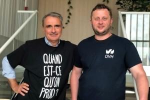Michel Paulin devient directeur g�n�ral d'OVH Group