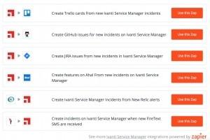 Ivanti ajoute les workflows de Zapier à son offre ITSM