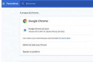 Sécurité renforcée avec le gestionnaire de mots de passe de Chrome 69