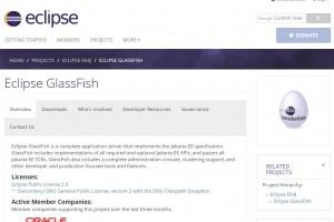 Tous les composants Java EE transférés à la Fondation Eclipse