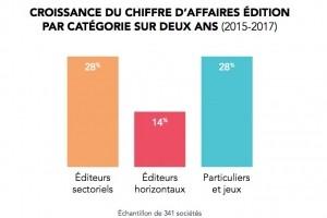 Syntec Numérique : +12% pour le CA 2017 des éditeurs de logiciels français