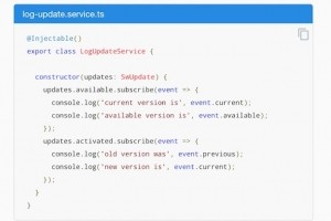 Angular 7.1 arrive en release candidate