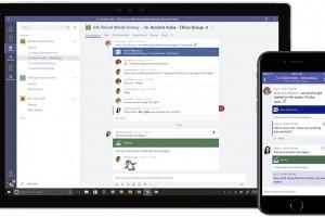 Microsoft Teams passe devant Slack
