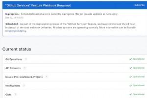 GitHub améliore le reporting de son statut