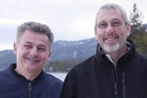 Thierry Cruanes et Benoit Dageville (co-fondateurs de Snowflake) personnalités IT 2018