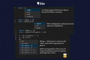 Kite recourt au ML pour assister la programmation en Python