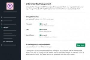 Pourquoi Slack adopte la gestion des clés de chiffrement