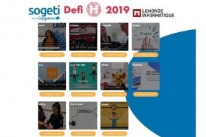 Défi H 2019 : les 11 projets d'étudiants IT en lice !