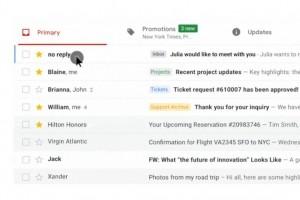 Gmail passe à la gestion d'onglets dynamiques