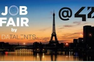 100 offres d'emploi en blockchain et IA le 13 avril chez 42
