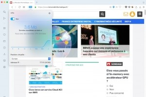Opera 60 : plus un proxy qu'un VPN