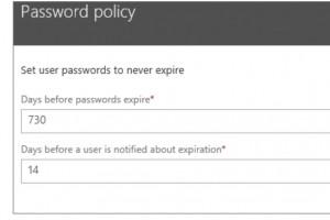Microsoft veut supprimer l'obligation de changer de mot de passe dans Windows