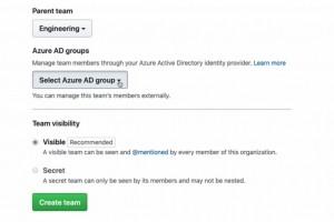 GitHub synchronise ses équipes avec les groupes Azure AD