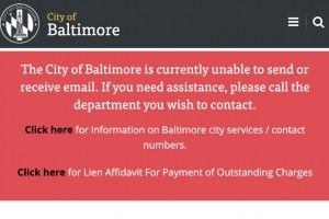 4ème semaine de cyberblocage pour Baltimore