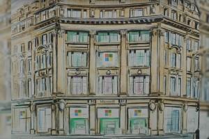 Microsoft ouvrira son 1er store européen à Londres en juillet