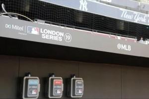 Mitel équipe le London Stadium pour le baseball
