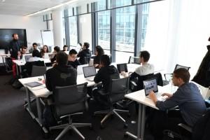 DXC Technology accueille la 1ere promotion de l'école IA de Microsoft/Simplon