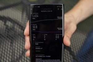 Test 5G Verizon avec le Samsung Note 10+