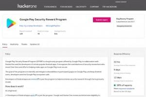 Google étend son programme de bug bounty sur les apps de Play