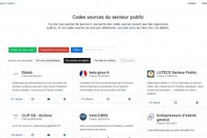 Les codes sources des logiciels du secteur public publiés