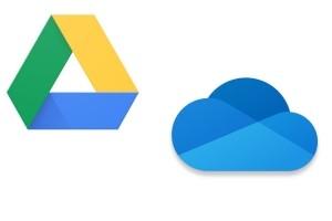 Google ou Microsoft : le combat des drive