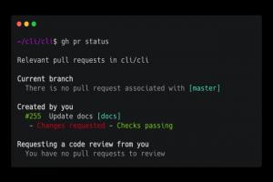 GitHub CLI : une interface en ligne de commande pour GitHub