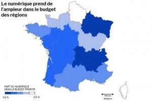 Enquête : Les budgets numériques 2019 des régions
