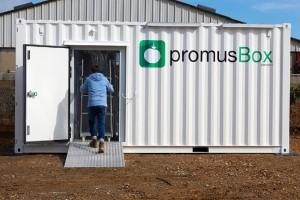 La startup Promus conçoit un conteneur connecté pour le circuit court