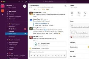 Slack simplifie son interface utilisateur