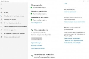 Le bug d'analyse de fichiers Windows Defender corrigé