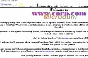 Microsoft rachète corp.com pour éviter un boom d'exploitations malveillantes