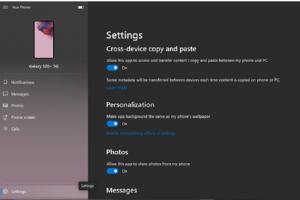 Des fonctions mobiles dans Windows Insider mais pour les Samsung uniquement