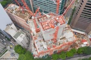 A Singapour, Bouygues Construction sécurise le chantier avec de la géolocalisation