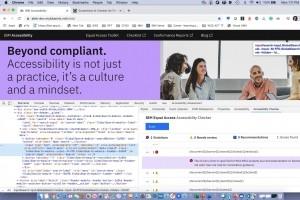 IBM met en open source son vérificateur d'accessibilité numérique