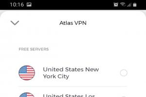 Atlas VPN : Le dernier des meilleurs VPN gratuits pour mobiles