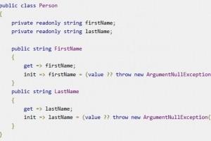 Microsoft révèle ses projets pour la version 9.0 du langage C#