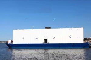 Un datacenter flottant exploitant l'eau des rivières pour son refroidissement