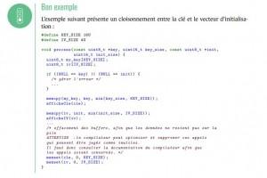 Un guide de l'ANSSI pour s�curiser les applications en langage C