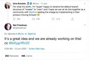 GitHub et OpenZFS vont supprimer les termes ma�tre et esclave de leurs services
