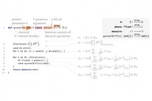 Silq, un langage de haut niveau pour le quantique