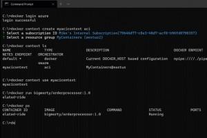 Microsoft accélère l'intégration de Docker dans Azure