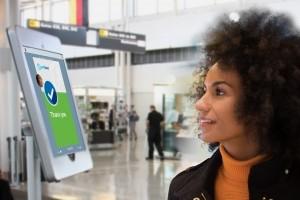 Reconnaissance faciale à l'embarquement à Washington Airport